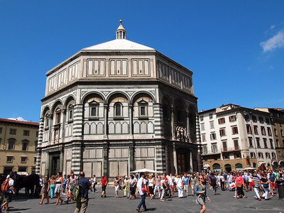 The Baptistery of St. John in Florence