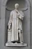 Florence - Uffizi Gallery - Machiavelli Statue S