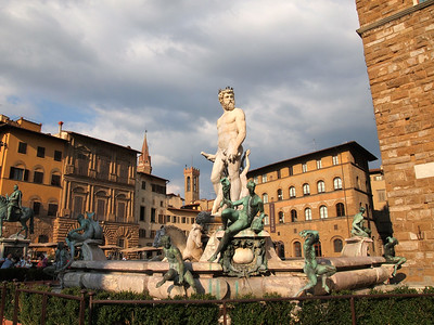 Fountain in Florence