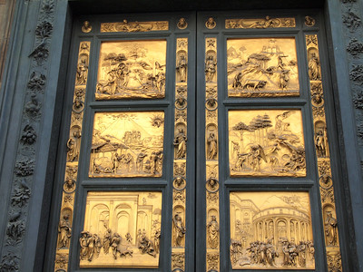 Doors to the Baptistery of St. John