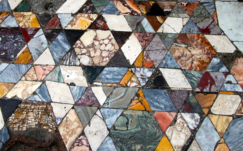 Italy, Herculaneium, Mosaic Floor Tiles