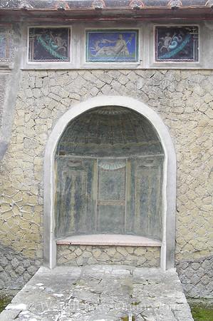 Naples - Herculaneum - Mosaic in Summer Room S