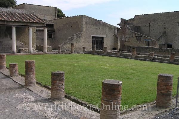 Naples - Herculaneum - Children's Playground S