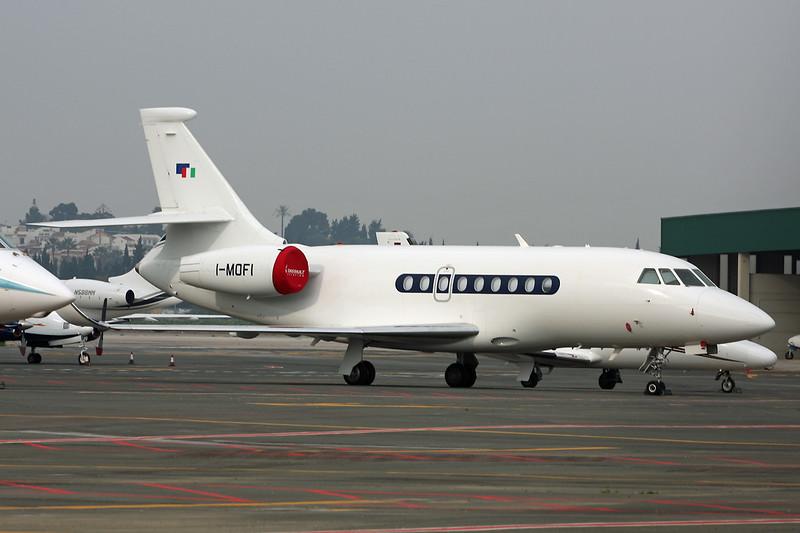I-MOFI Dassault Falcon 2000LX c/n 213 Malaga/LEMG/AGP 29-01-16