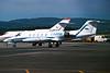 I-FFRI Learjet 35A c/n 35-493 Glasgow/EGPF/GLA 28-06-95 (35mm slide)