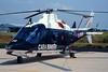 """MM81110 (CC-92) Agusta A-109A """"Carabinieri"""" c/n 7208 Pratica di Mare/LIRE 24-05-98 (35mm slide)"""