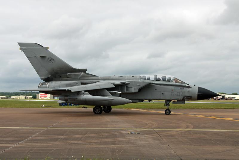 """MM7057 (6-04) BAe/Panavia Tornado IDS """"Italian Air Force"""" c/n IS056 Fairford/EGVA/FFD 22-07-19"""