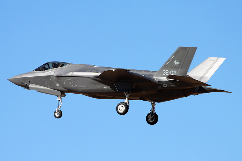 "MM7333 (32-02) Lockheed Martin F-35A Lightning II ""Italian Air Force"" c/n AL-2 Luke/KLUF/LUF 17-11-16"