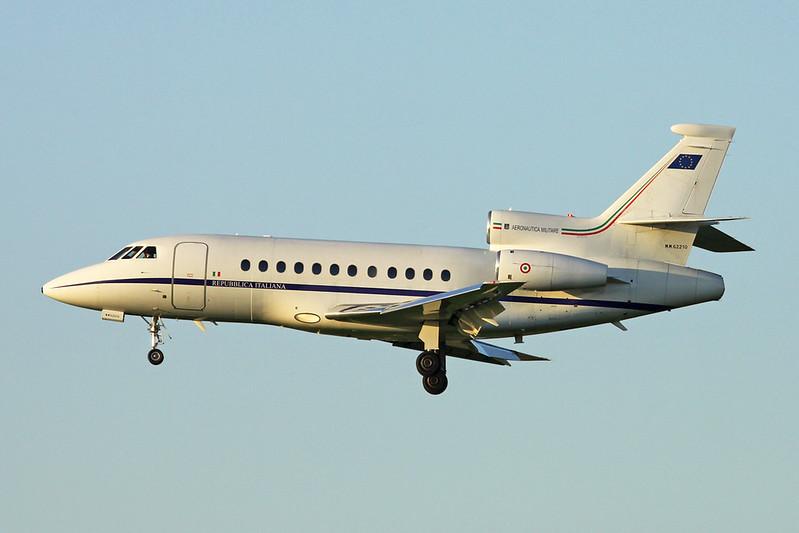 """MM62210 Dassault Falcon 900EX """"Italian Air Force"""" c/n 116 Brussels/EBBR/BRU 07-11-17"""