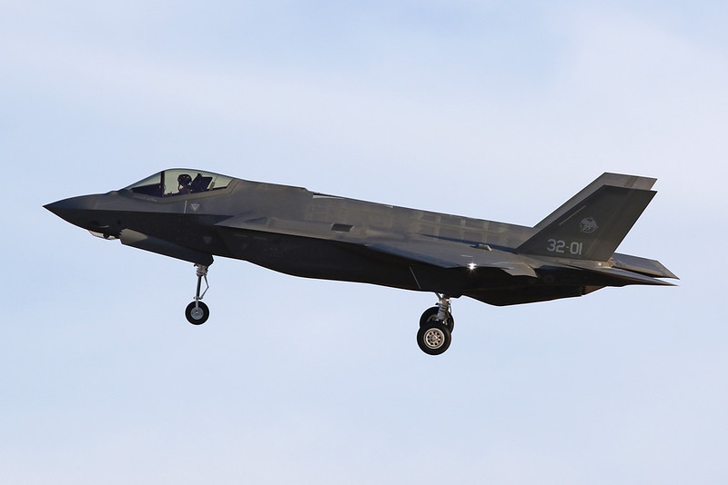 "MM7332 (32-01) Lockheed Martin F-35A Lightning II ""Italian Air Force"" c/n AL-1 Luke/KLUF/LUF 30-01-18"