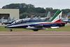 """MM54551 (1) Aermacchi MB-339A/PAN (MLU) """"Italian Air Force"""" c/n 6772 Fairford/EGVA/FFD 22-07-19 """"Frecce Tricolori"""""""