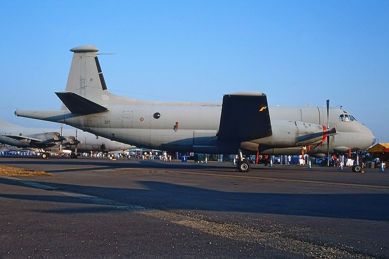 "MM40109 Breguet 1150 Atlantic ""Italian Air Force"" c/n 71 Fairford/EGVA/FFD 25-07-99 (35mm slide)"