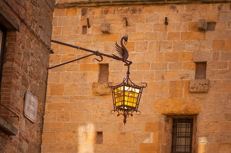 Lighting the Square - Volterra