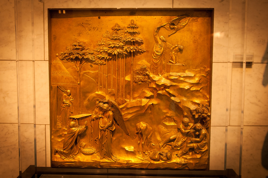 Ghiberti's panels from the Duomo Baptistry