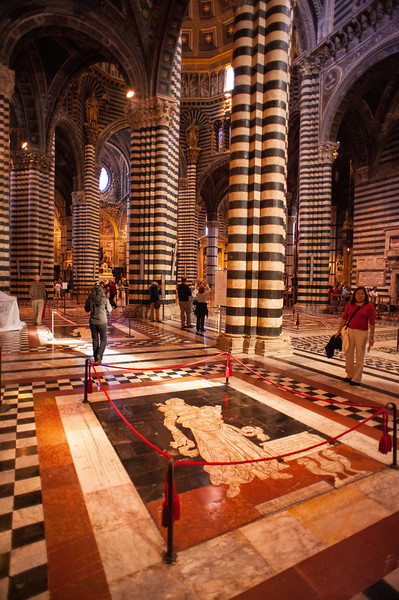 Renaissance Interior - Siena's Cathedral