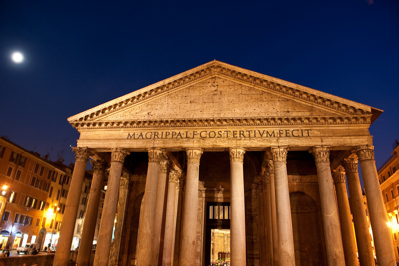 Moon Lit Pantheon