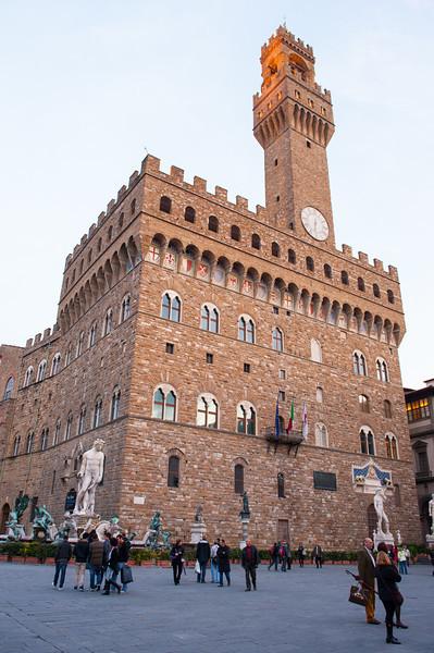 Palazzo Vecchio - Florence - circa 1350