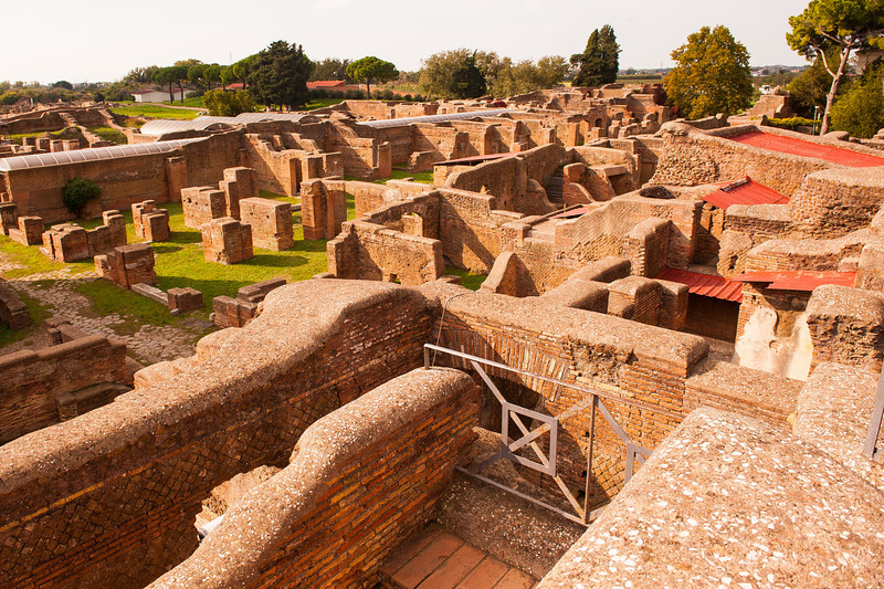 Remains of Homes- Ostia Antica