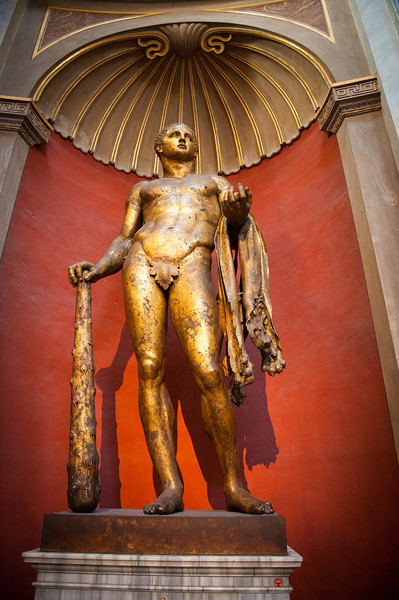 Bronze Statue of Hercules - Vatican Museum