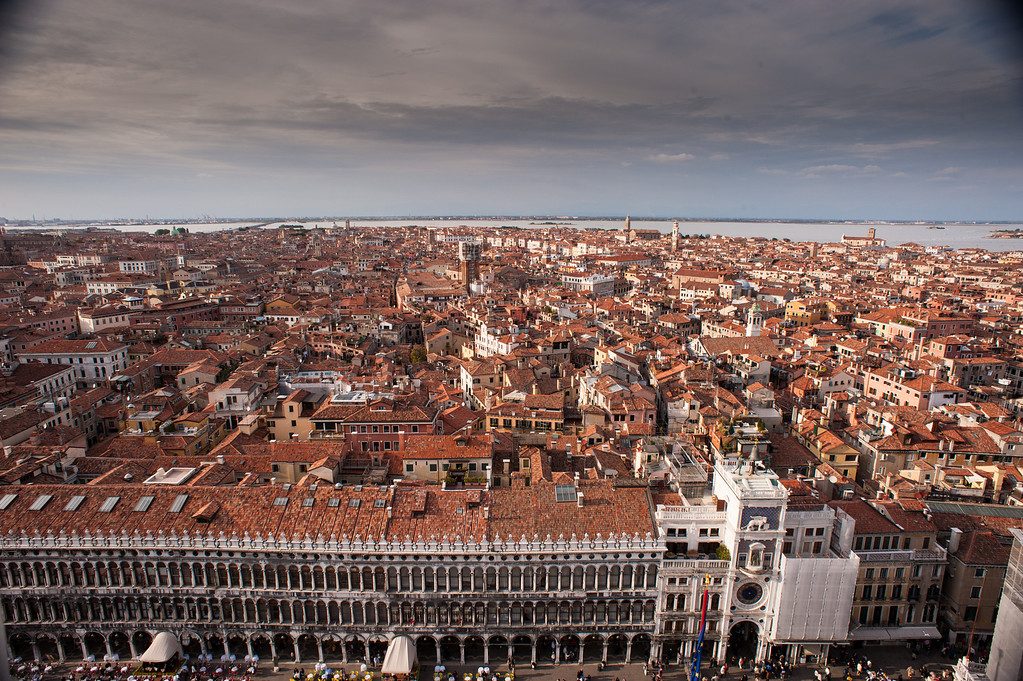 Venice from the Campaniles Bell Tower