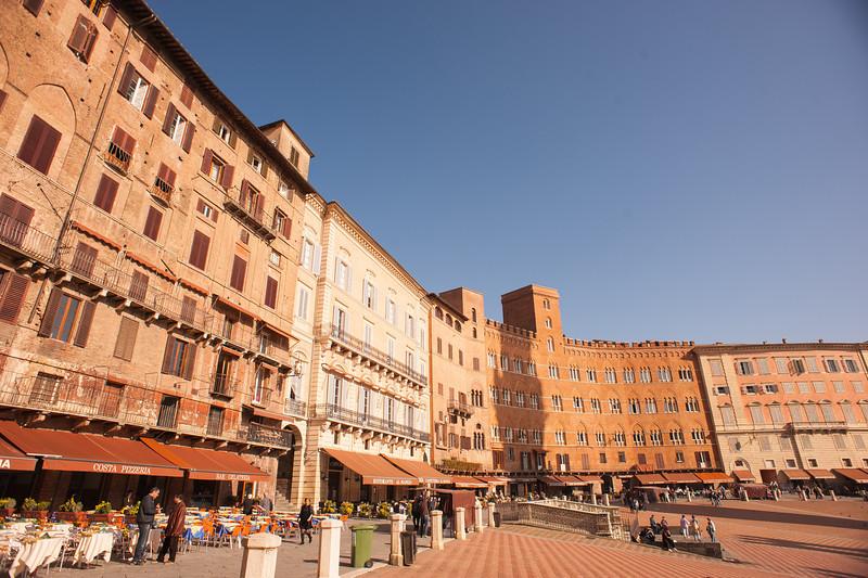 IL Campo Square in Siena