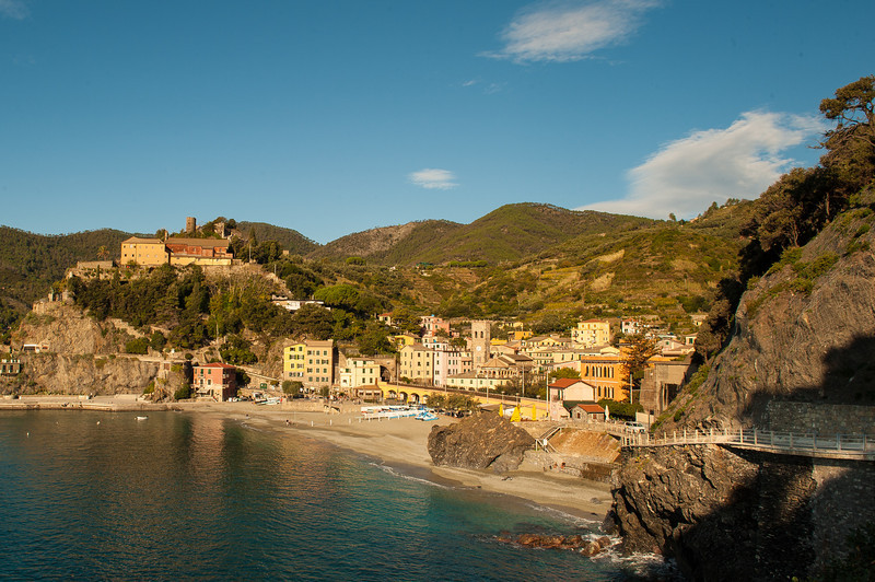 Trail Overlooking Monterosso