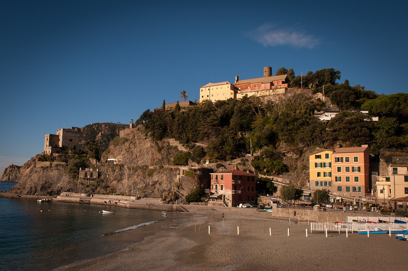 Beach at Monterosso