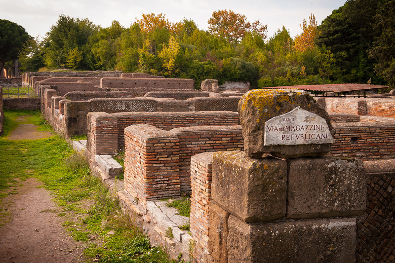 Warehouses for the Roman Republic - Ostia Antica