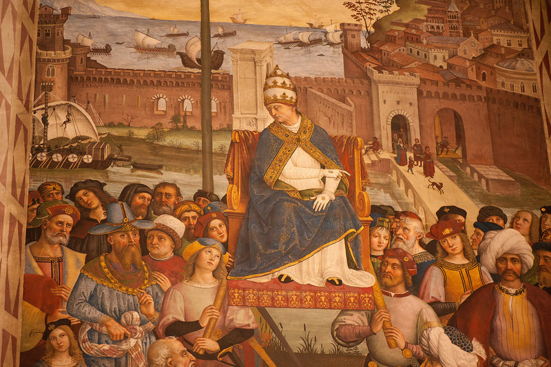 Frescoes - Piccolomini Library - Siena's Cathedral