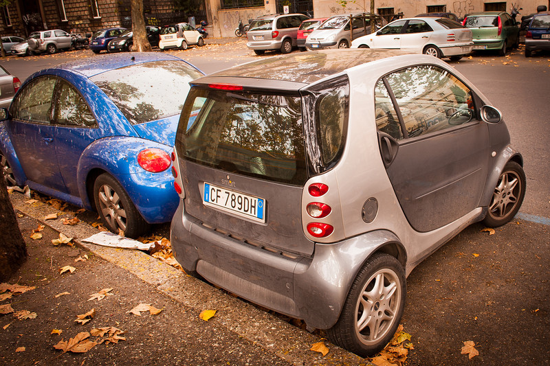 Creative Parking - Rome