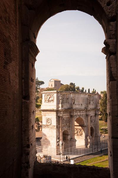 Arch of Constantine - Rome circa 320 AD