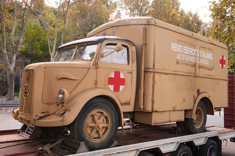 WW II Era Ambulance