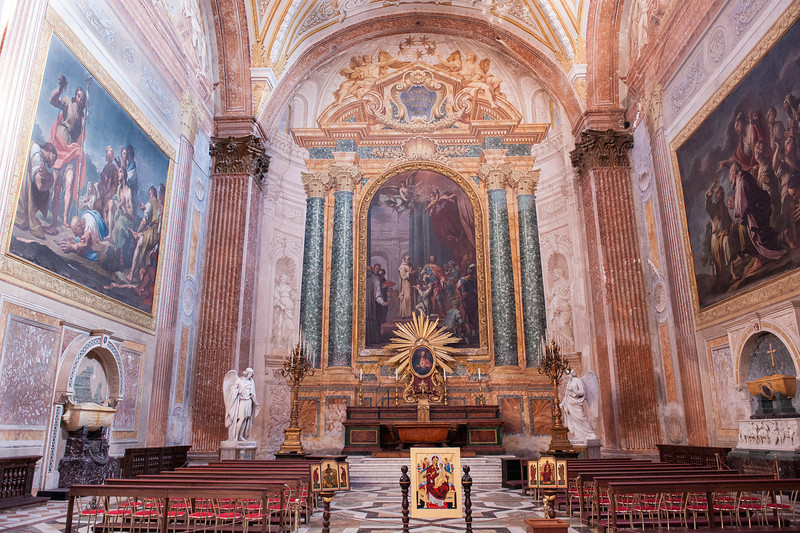 The Baths of Diocletian - Church of Santa Maria degli Angeli