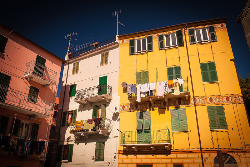 Homes in Corniglia