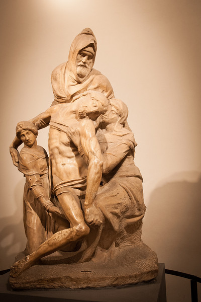 Pieta by Michelangelo - Duomo Museum - Florence