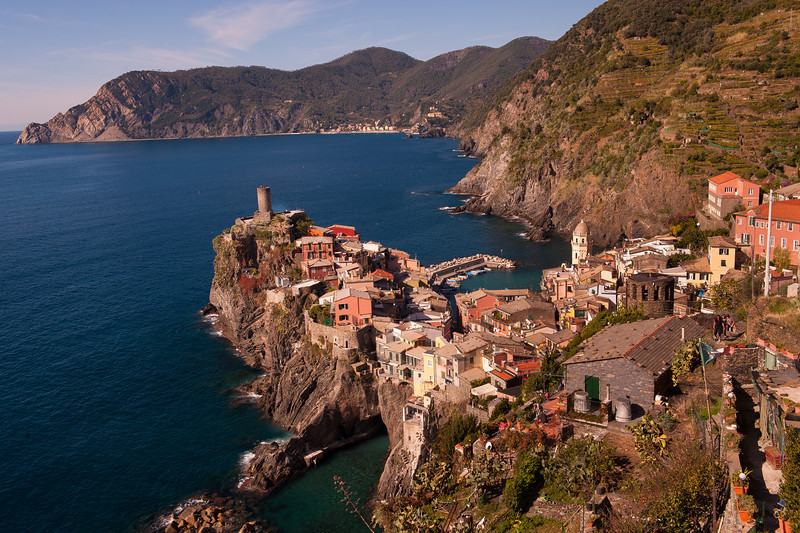 Town of Vernazza Overlook