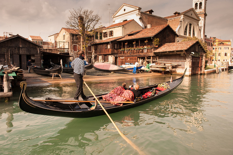 Gondola Workshop - Venice