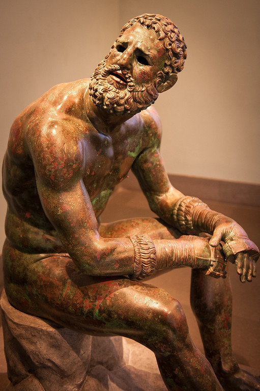 The Boxer at Rest by Pugilatore - circa 1st Century BCE