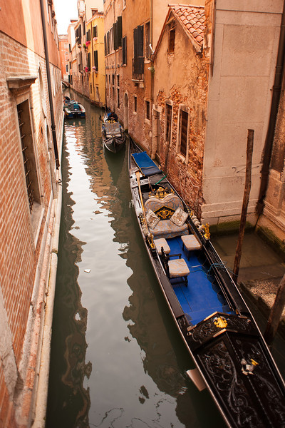 Narrow Streets of Water
