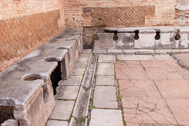 Public Latrine (forica) - circa 4th century