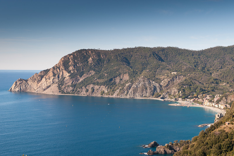 View Looking Back at Monterosso