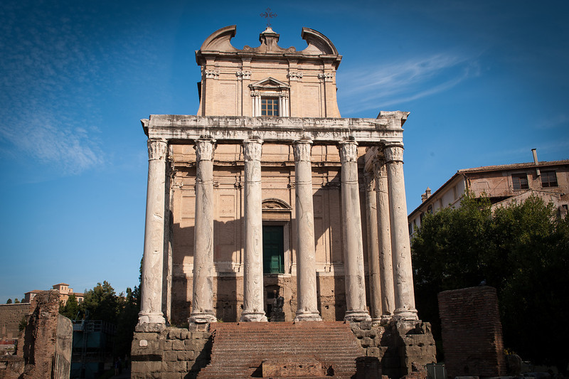 Temple of Antoninus Pius and Faustina - Roman Forum
