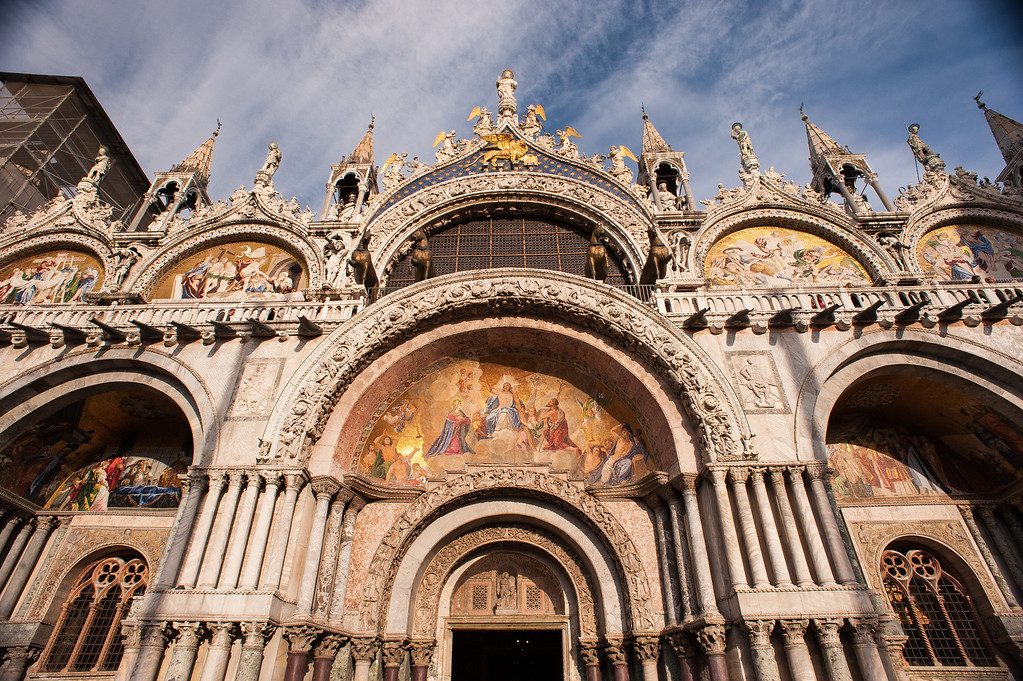 Mosaics on Front of St. Mark's Basillica