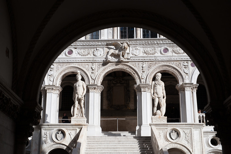 Entrance to Doge's Palace