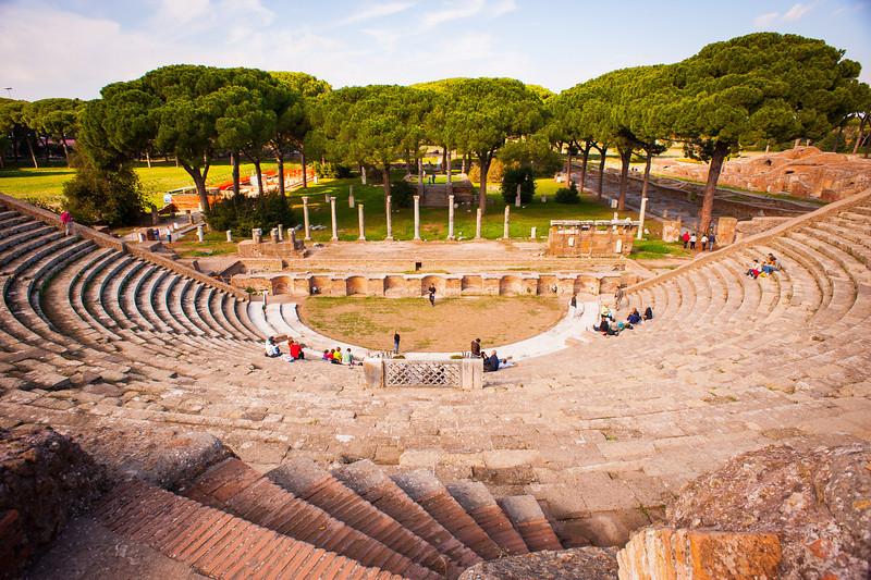 Theater (Teatro) - Ostia Antica