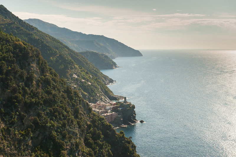 Trail to Town of Vernazza