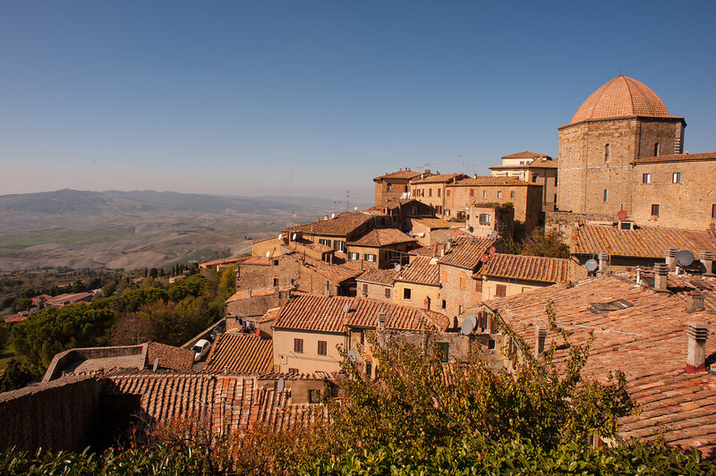 Volterra - Hill Town in Tuscany