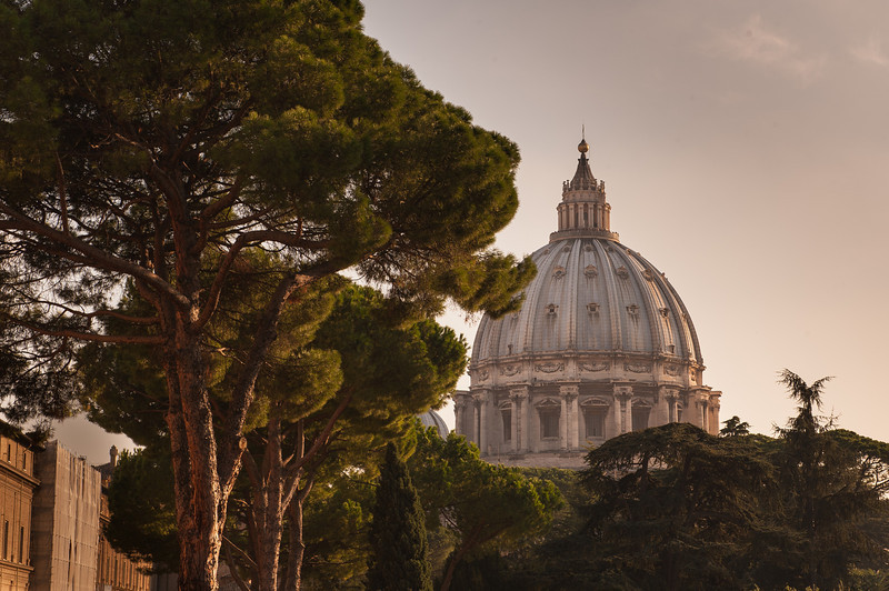 St Peters Basilica Dome - Rome