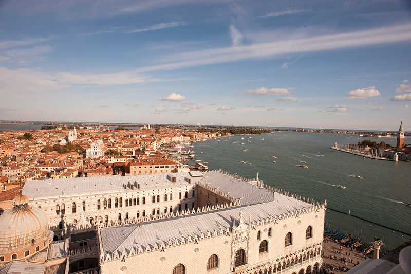 Canale di San Marco from the Campaniles BellTower