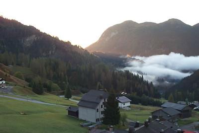 Sunrise in Sauris, Friuli